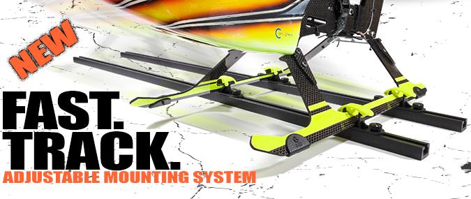 Random Heli T-Track Adjustable Mounting System