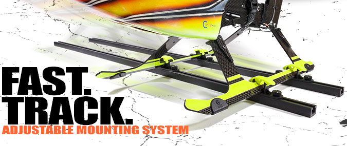 Random Heli T-Track Adjustable Mounting System