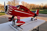 Muscle Coupe from Legend Aviation mounted on Strut and Tail Support Gear Jacks from Random RC