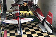 Giant Scale RC airplanes in trailer using Random RC Gear Jacks